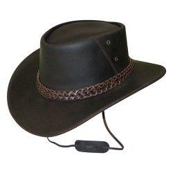 Chapeau équitation adulte BANDJO marron
