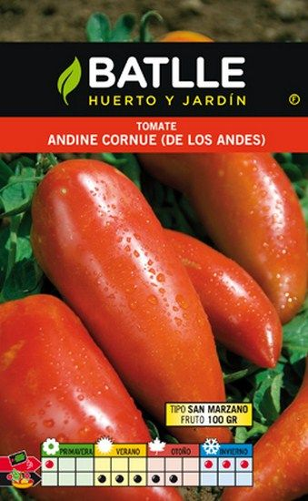 Semillas para tomate Andine