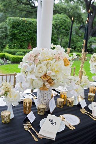 Wedding Gift Ideas New Orleans : black white weddings new orleans wedding wedding centerpieces wedding ...