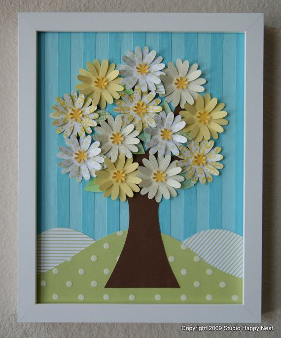 Cute Collage!   Happy Spring Tree   by studiohappynest on @Etsy