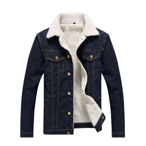 herren jacken and mantel men 039  s jacken winter fur jeans jacket coat herren jacken  s jacken winter fur jeans jacket coat