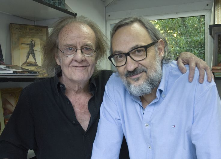 13/06/15. Luis Eduardo Aute y Miguel Munárriz. Foto © Jorge Aparicio/ FLM15
