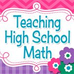 A blog post which tells about 10 free secondary math resources!