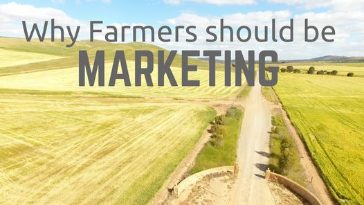 Many farmers would generally look at marketing as an unnecessary tool for their business or they generally don't think about marketing at all.