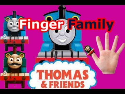 Finger Family Nursery kids rhyme |THOMAS AND  FRENDS  characters HD Vide...