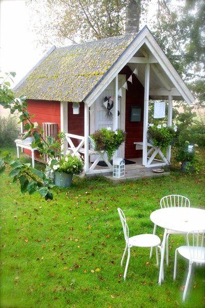 lekstuga,trädgårdsmöbler för barn,trädgård,liten diskbänk,vimpel