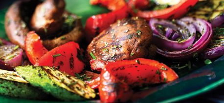 Savoury Grilled Vegetables