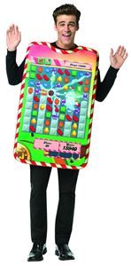 Candy Crush Game Board Tunic Adult Unisex Costume - 356557 | trendyhalloween.com #menscostumes