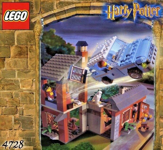 Lego - Harry Potter - Chamber of Secrets - Escape from Privet Drive - (4728) | eBay