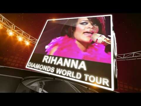 Rihanna 2013 Diamonds World Tour Tickets | Rihanna has announced her 2013 Diamonds World Tour. Rihanna tickets are available here: http://www.ticketcenter.com/rihanna-tickets or call 1-888-730-7192 (toll free).