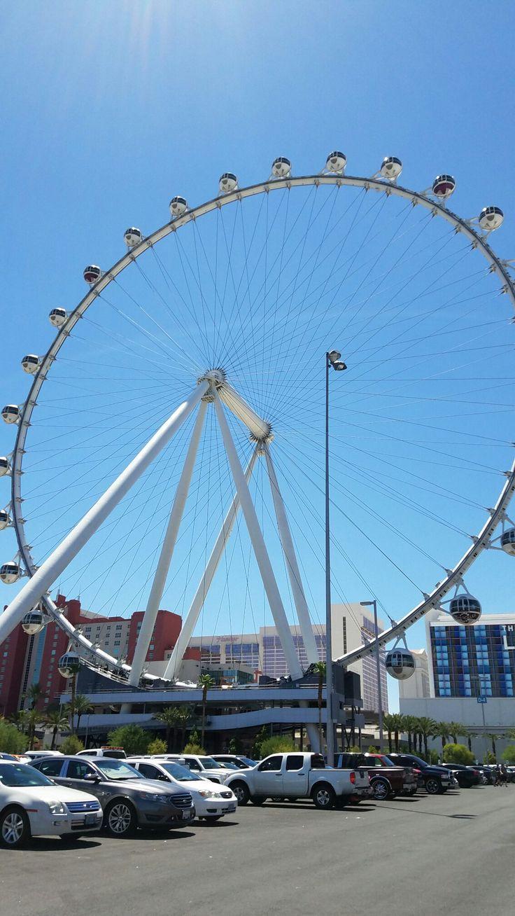 The world's tallest ferris wheel - High Roller Vegas