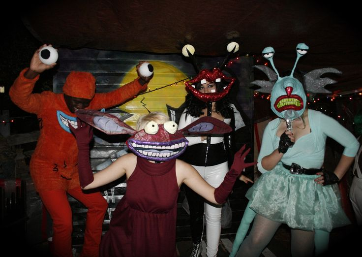 Aaahh! Real Monsters!..costumes. holy moly!! forgot about that show!!!