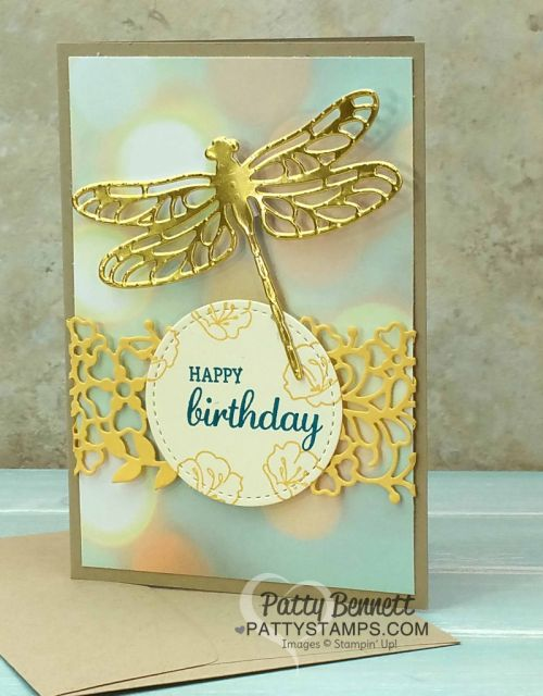 Dragonfly Note Cards - Stampin' UP! Occasions catalog | Patty's Stamping Spot | Bloglovin'