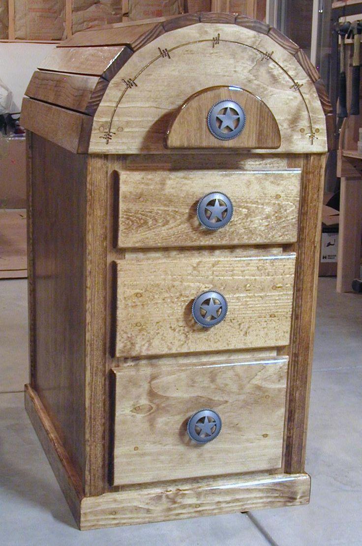 saddle rack with drawers