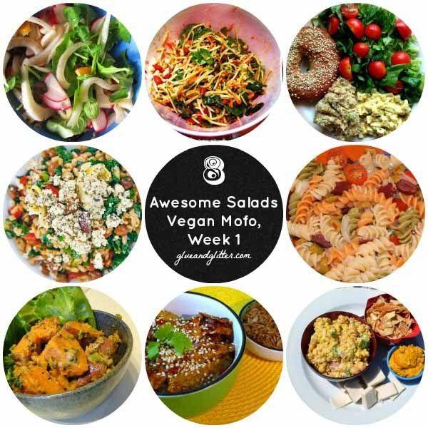8 Awesome Vegan Salads