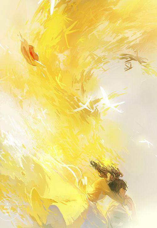 Bright Golden Yellow