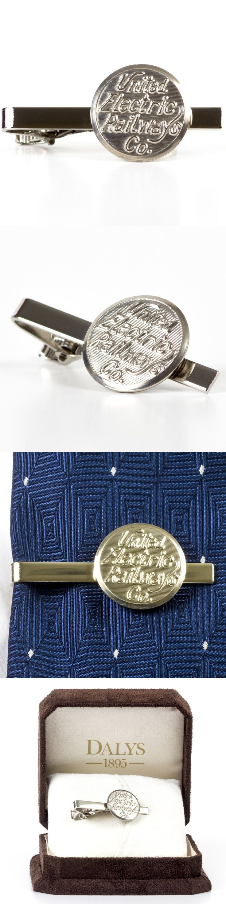 Tie Clasps and Tacks 10298: Compass Rose Men S Vintage United Electric Railways Tie Clip -> BUY IT NOW ONLY: $77 on eBay!