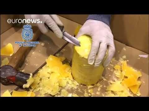 Maxi-sequestro di 745 Kg di cocaina nascosta nella frutta esotica