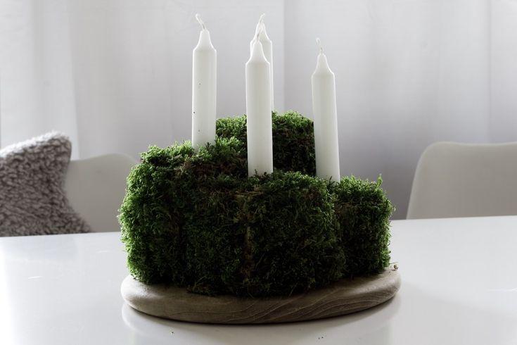 best 25 adventskranz selber machen mit moos ideas on pinterest adventskalender zahlen selber. Black Bedroom Furniture Sets. Home Design Ideas