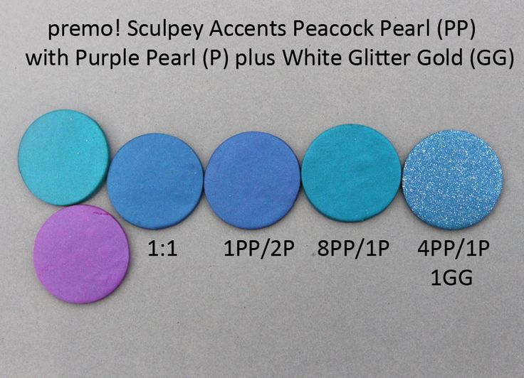 Premo! Color Recipes from Syndee Holt - Peacock Pearl, Purple Pearl, & White Glitter Gold