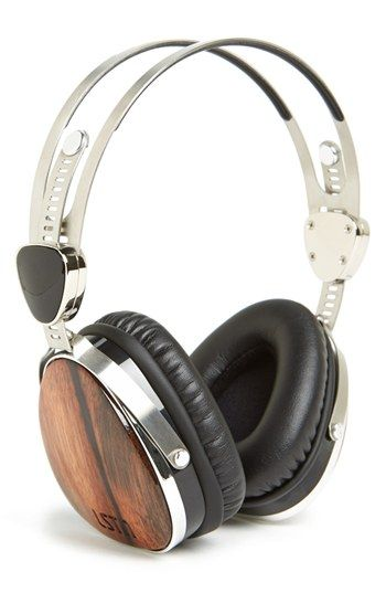 LSTN 'Troubador' Ebony Wood Headphones