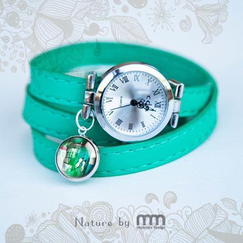 GREEN BIRDS watch