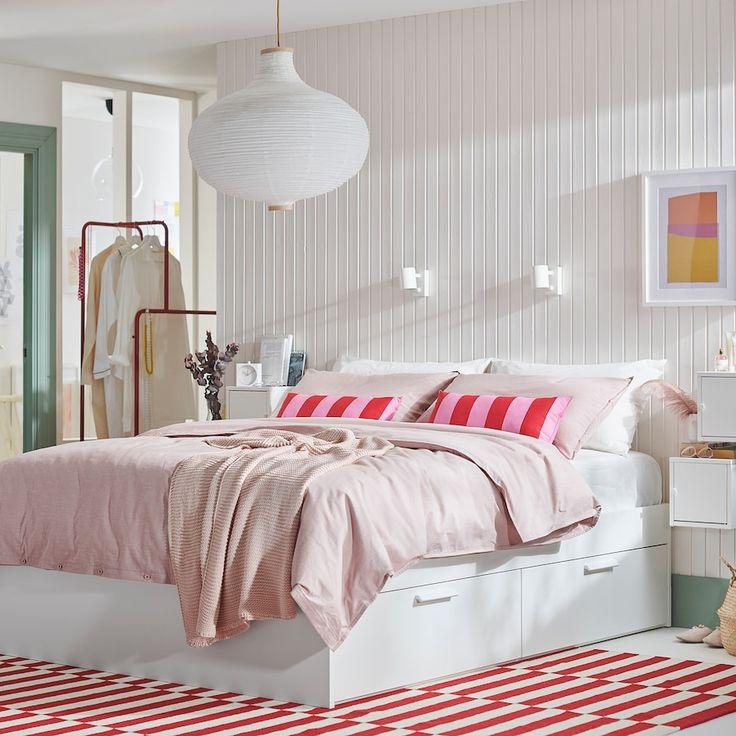 Bed Frame With Storage Brimnes, Ikea Brimnes Double Bed Frame With Storage