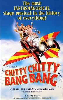 Chitty Chitty Bang Bang the musical , London Palladium