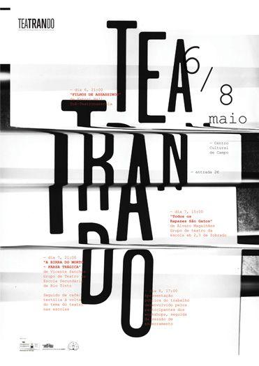 teatrando  poster by sérgio alves