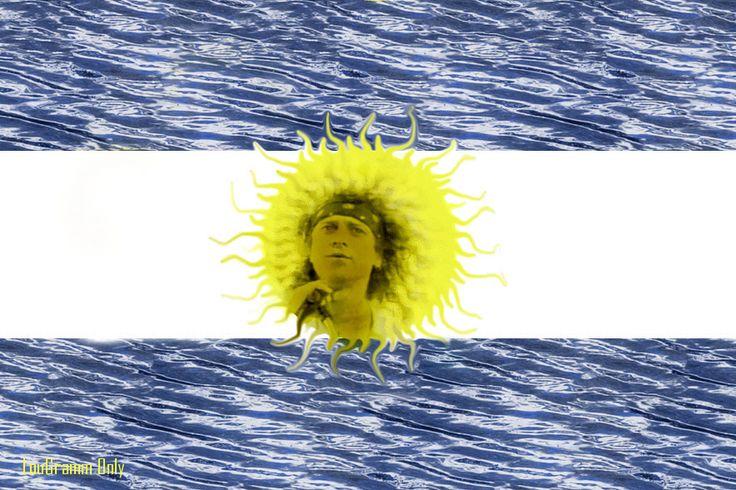 an argentinian flag