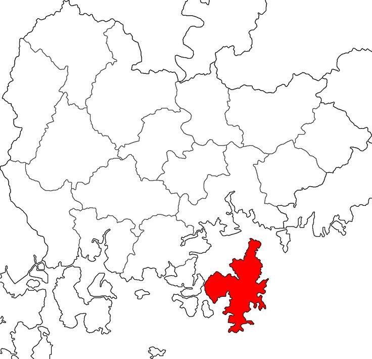 Map Geoje-si - 巨済島 - Wikipedia