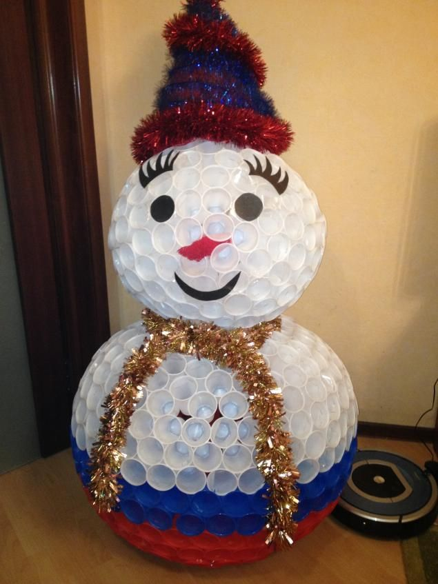 Handmade crafts for ChristmasNot difficult to make