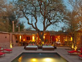 Awasi in Chile's massive Atacama Desert - 8 bungalows at the Relais & Chateaux property..