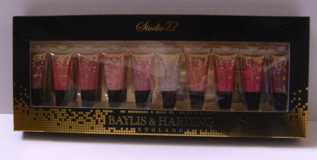 Baylis & Harding Studio 27, England lipglosses