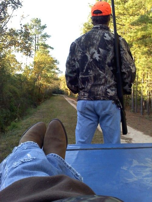 It's my dream to go hunting with my man:)