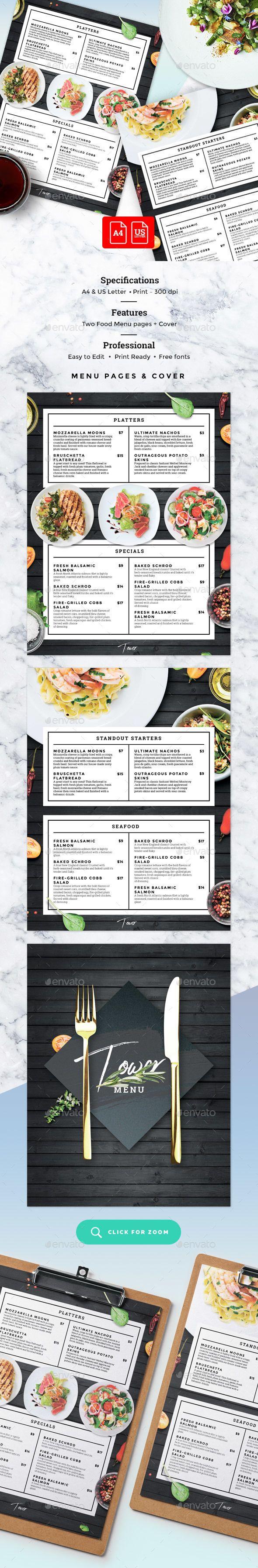 professional menu templates - Funf.pandroid.co