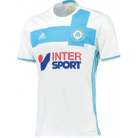Maillot Olympique De Marseille 2016-2017  Pas Cher Domicile