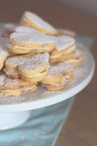 White Chocolate and Orange Butter Biscuits