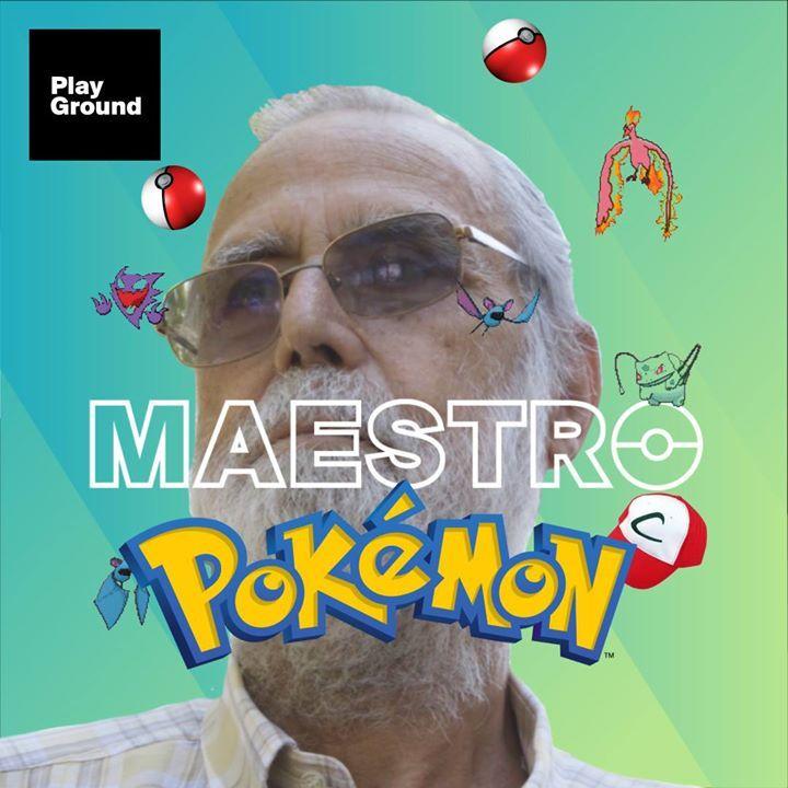 Todo un maestro, me quito el sombrero ante él. Ha hecho más que muchos de nosotros. #PokemonParaTodos #PokemonGO #PokemonGoColombia #pokemon #pokemongo