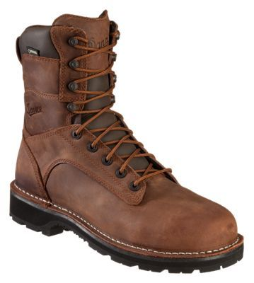 Danner Workman AT GORE-TEX Safety Toe Work Boots for Men - Brown - 11.5W