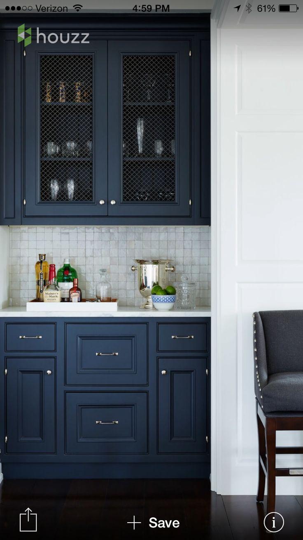 Maybe navy kitchen cabinets interiors pinterest navy