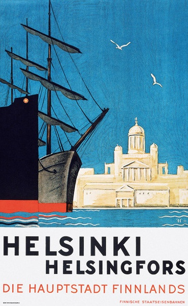 Advert for Helsinki