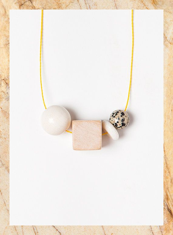 Terrestre 05 necklace by Depeapa by depeapa on Etsy,