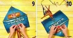 Как сделать воздушного змея изобыкновенного пакета