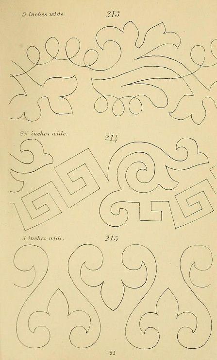 Medieval Embroidery Patterns | Gallery.ru / Foto # 1 - Book1 - miroslava388