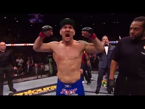 UFC (Ultimate Fighting Championship): UFC 187: Chris Weidman and Vitor Belfort Octagon Interviews