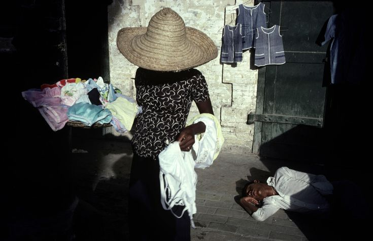 Alex Webb - Haiti. Port-au-Prince. 1979.