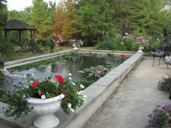 1000 ideas about pond liner on pinterest ponds pond for Formal koi pond