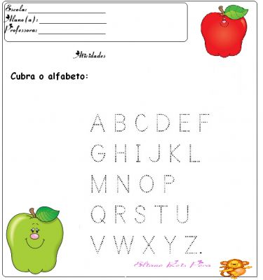 Atividades para pré-escolar - 10