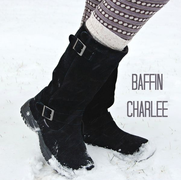 Baffin Charlee: A wonderfully comfortable boot with a roomy fit for thick socks or an added insole/orthotic. Simple, no-fuss yet chic design for a snow boot! And it's warm but won't overheat your feet.